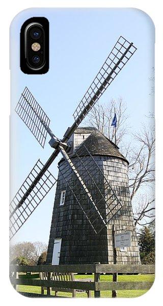 Gardiner Windmill East Hampton New York IPhone Case