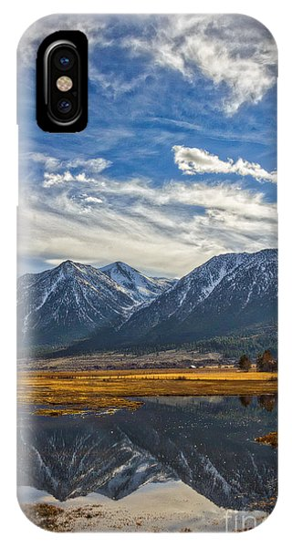 Gardnerville Nevada IPhone Case