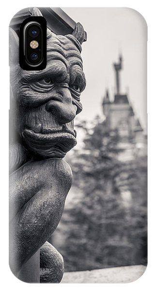Castle iPhone X / XS Case - Gargoyle by Adam Romanowicz