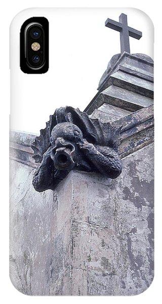 Gargoyle On The Italian Vault IPhone Case
