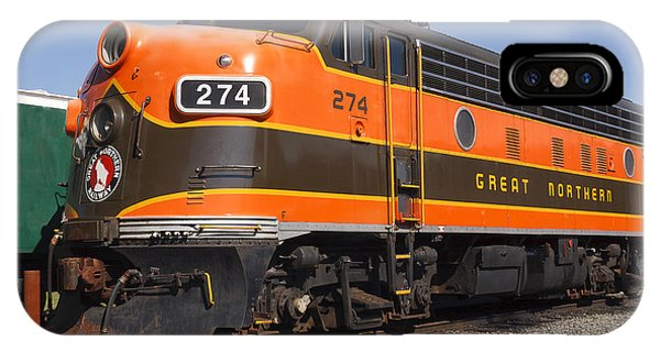 Garibaldi Locomotive IPhone Case