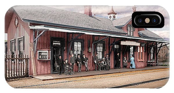 Garrison Train Station Colorized IPhone Case