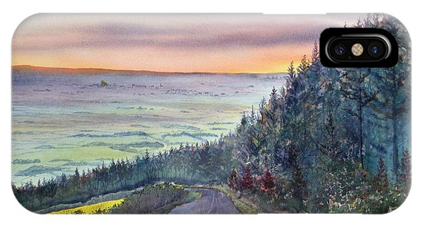 Garrowby Hill IPhone Case