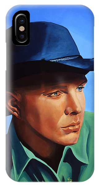 Saxophone iPhone X Case - Garth Brooks by Paul Meijering
