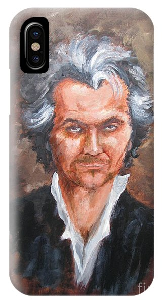 Gary Oldman As Beethoven IPhone Case