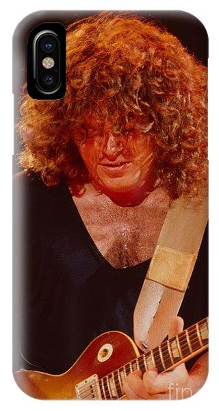 Gary Richrath Of Reo Speedwagon At Oakland Auditorium 1979 IPhone Case