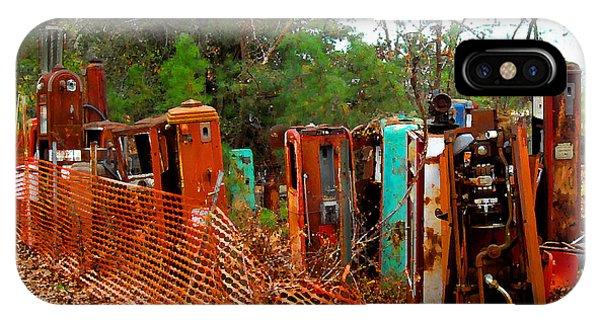 Gas Pump Gathering IPhone Case