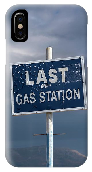 Gas Station Roadsign IPhone Case