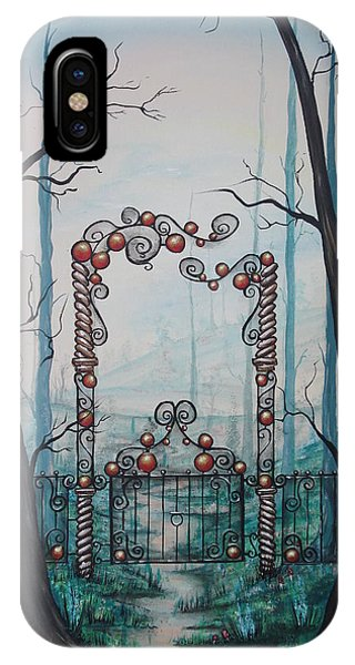 Gate Of Dreams IPhone Case