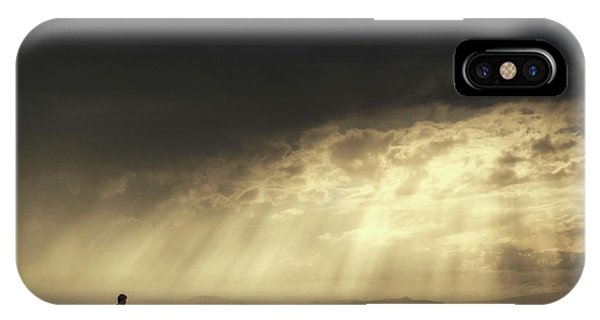 Dust iPhone Case - Gateaway by H?seyin Ta?k?n