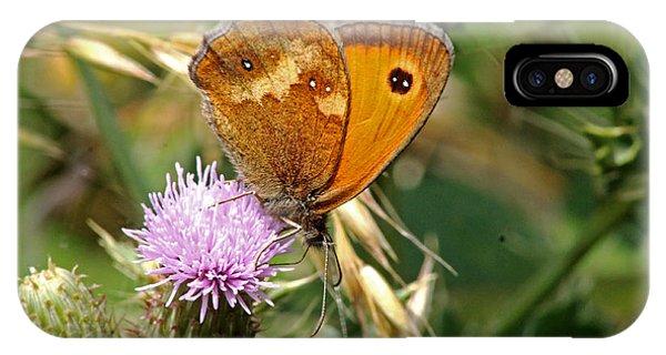 Gatekeeper Butterfly IPhone Case