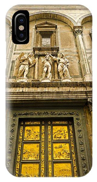 Gates Of Paradise - Florence Italy IPhone Case