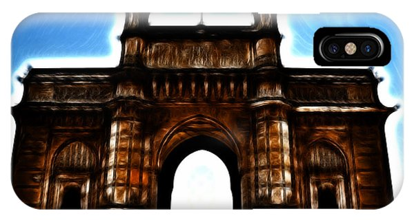 Gateway To Fractalius IPhone Case