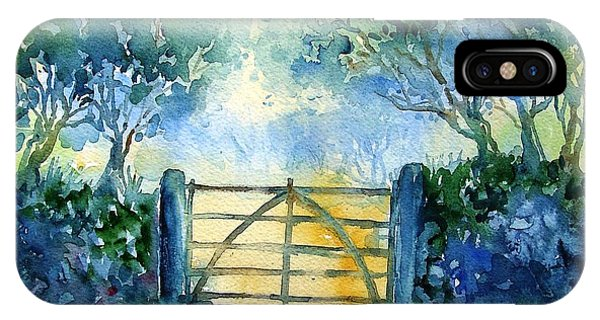 Gateway To The Harvest Field  IPhone Case