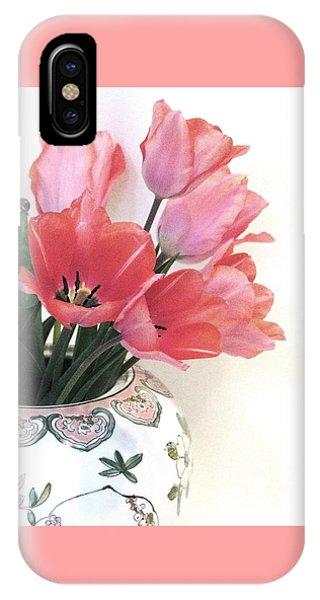 Gathered Tulips IPhone Case