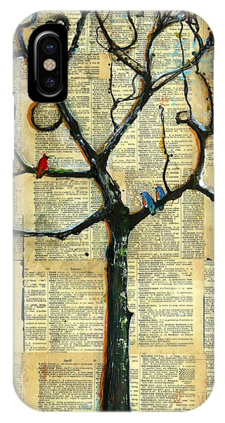 Gathering Place Winter Tree IPhone Case