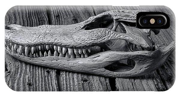 Gator Black And White IPhone Case