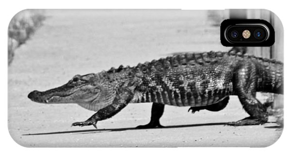 Gator Walking IPhone Case