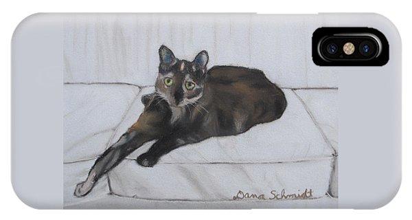 Gatsby The Cat IPhone Case
