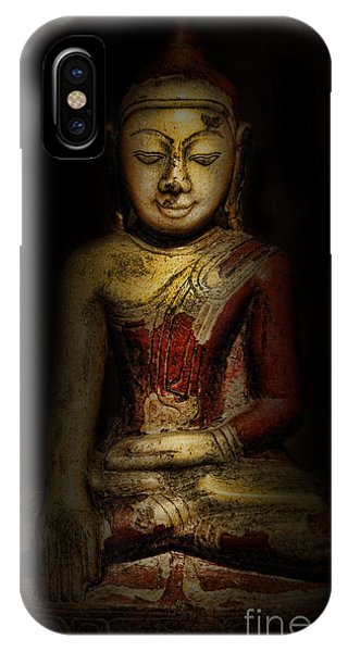 Gautama Buddha Phone Case by Lee Dos Santos