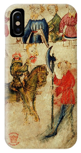 Gawain And The Green Knight IPhone Case