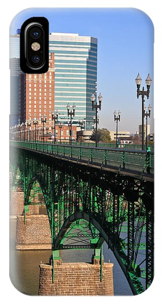 Gay Street Bridge Knoxville IPhone Case