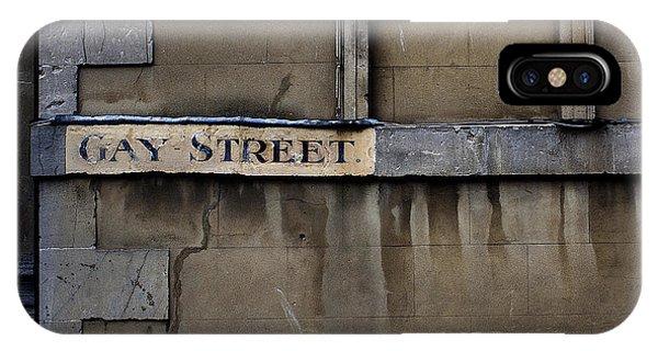 Gay Street Denise Dube IPhone Case