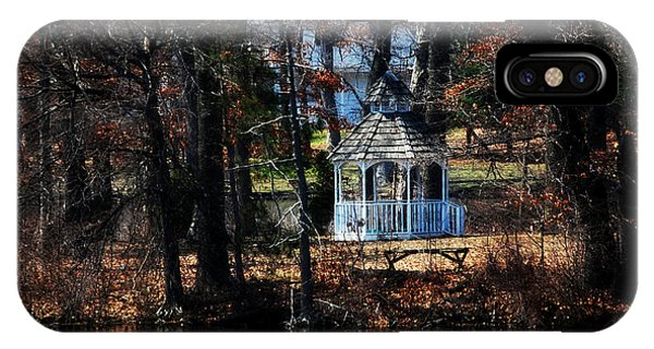 Gazebo In The Woods IPhone Case
