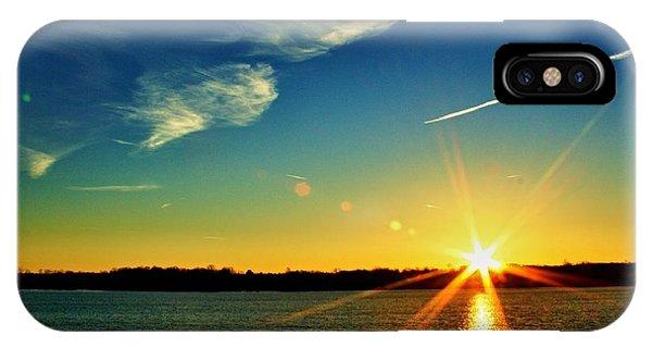 Gc Lake Sunrise IPhone Case