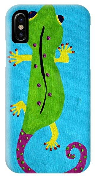 Gecko Gecko IPhone Case