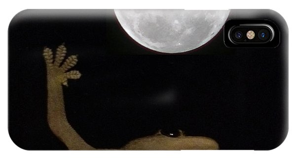 Gecko Moon IPhone Case