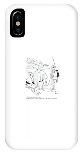 Endorsement iPhone Case - Gee, You Want Me To Say I Eat Krispy Wispies When by Chon Day