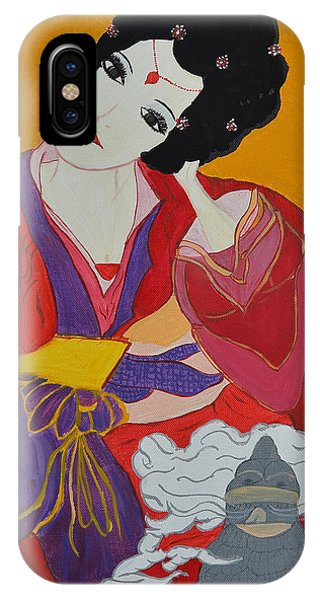Geisha 2 IPhone Case
