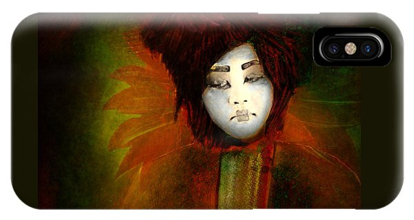 Geisha5 - Geisha Series IPhone Case