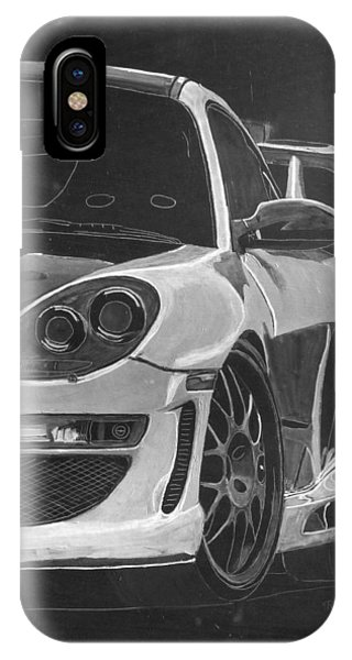 Gemballa Porsche Left IPhone Case