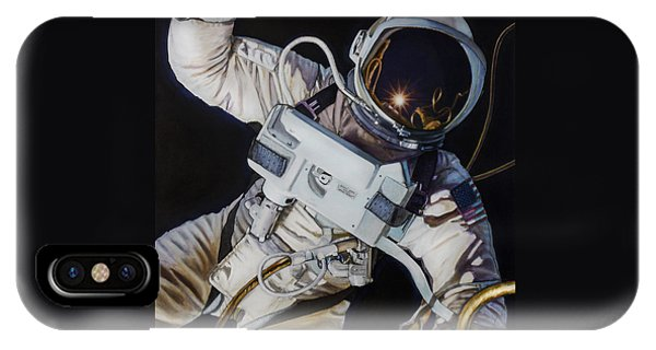 Space iPhone Case - Gemini Iv- Ed White by Simon Kregar