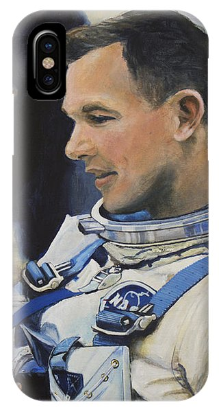 Professional iPhone Case - Gemini Viii Dave Scott by Simon Kregar