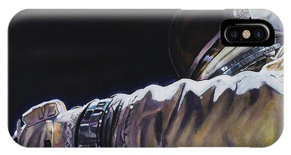 Nasa iPhone Case - Gemini Xi - Into The Void by Simon Kregar