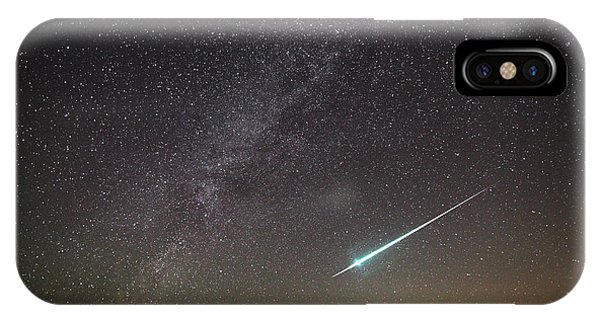Geminid Meteor In Florida IPhone Case