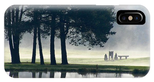Genegantslet Golf Club IPhone Case