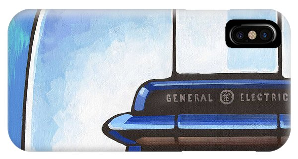 General Electric Toaster - Blue IPhone Case