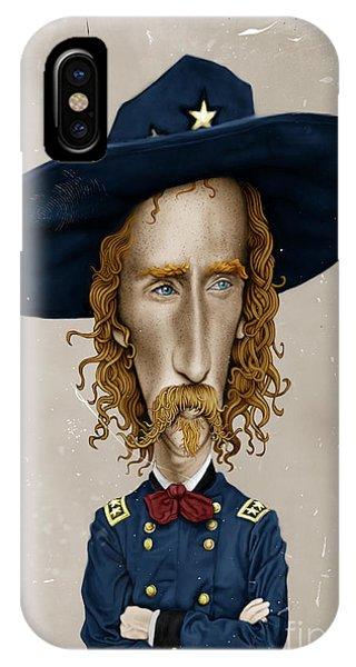 General George Custer IPhone Case