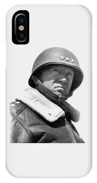 General George Patton IPhone Case
