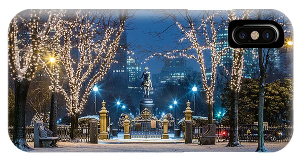 General Washington Under The Lights IPhone Case