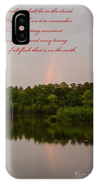 Lake Juliette iPhone Case - Genesis 9  16 by Donna Brown