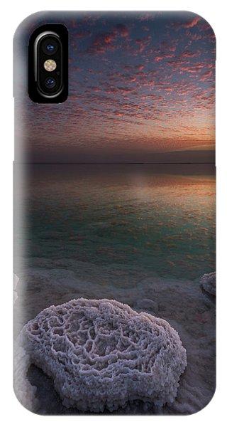 Rock Formation iPhone Case - Genesis by Haim Rosenfeld