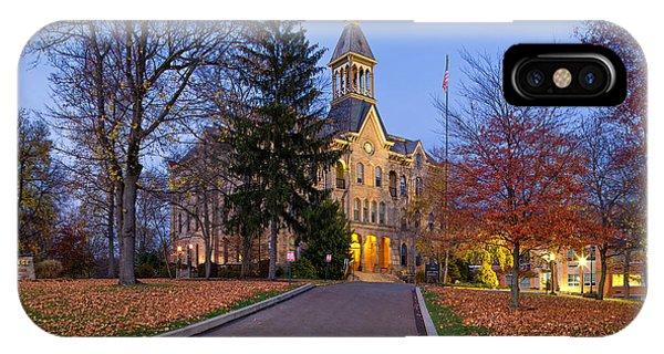 Geneva College IPhone Case