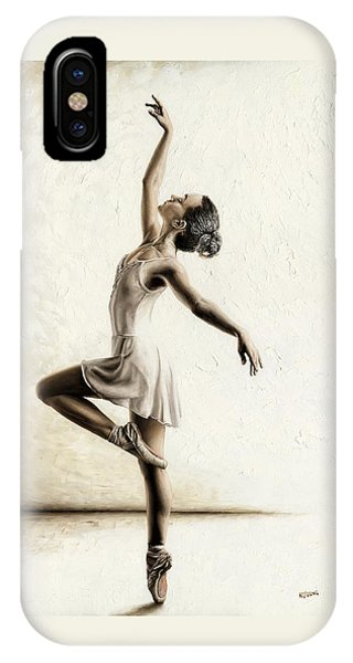 Genteel Dancer IPhone Case