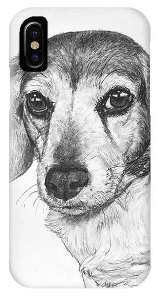 Gentle Beagle IPhone Case