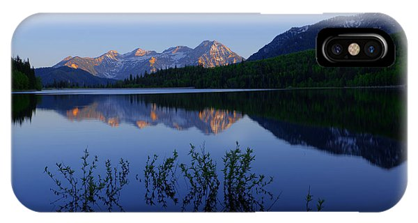 Spring Mountains iPhone Case - Gentle Spring by Chad Dutson